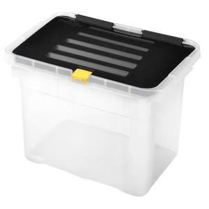 heidrun Plastový úložný box s vekom HEIDRUN One 9l vyobraziť