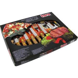 TORO Sada steakových príborov pre 6 osôb, 12 ks vyobraziť