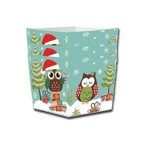 TORO Košíčky na cukrovinky, papier, 4 ks, vianočná sova vyobraziť