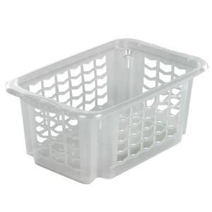 Keeeper Košík stohovateľný, plast, transparentný vyobraziť