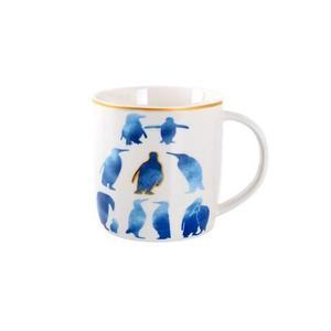 TORO Keramický biely hrnček s modrým potiskom TORO 350 ml vyobraziť
