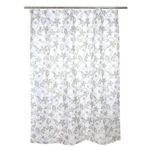 TORO Sprchový záves, polyester, 180 x 180 cm, motív kvety vyobraziť