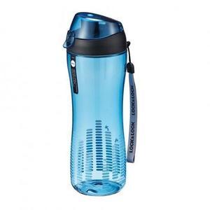 LOCK&LOCK Športová fľaša na pitie Lock 550 ml, modrá vyobraziť