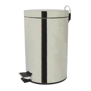 TORO Nerezový nášľapný kôš na odpadky TORO 3l vyobraziť