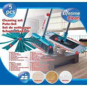 Lifetime Set čistiaci - 2 x mop, 1 x zmeták vyobraziť