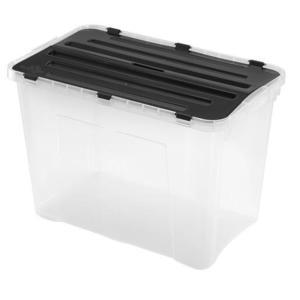 heidrun Plastový úložný box s vekom HEIDRUN 60l vyobraziť