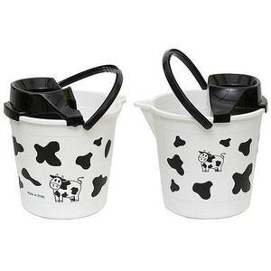 Cavallo Plastové vedro so žmýkadlom 12l krava vyobraziť