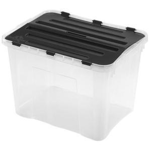 heidrun Plastový úložný box s vekom HEIDRUN 42l vyobraziť