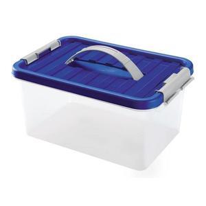 heidrun Plastový úložný box s vekom a uchom HEIDRUN Clip box 5l vyobraziť