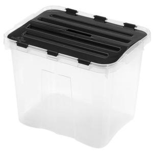 heidrun Plastový úložný box s vekom HEIDRUN Classic 24l vyobraziť