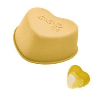 TORO Silikónové košíčky na muffiny 3ks TORO srdce 7, 5cm vyobraziť