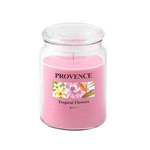 Provence Vonná sviečka v skle PROVENCE 510g, tropické kvety vyobraziť
