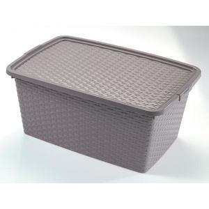 heidrun Plastový úložný box s vekom HEIDRUN 20l. vyobraziť