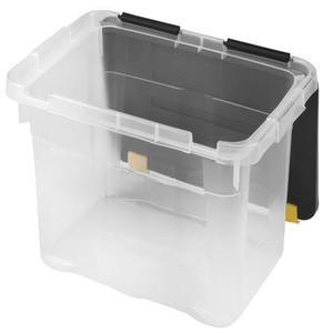 heidrun Plastový úložný box s vekom HEIDRUN One 18l vyobraziť