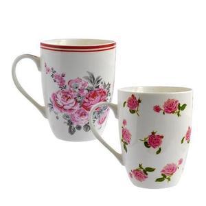 TORO Hrnček ruža 340 ml, porcelán, assort vyobraziť
