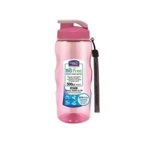 LOCK&LOCK Fľaša na vodu Bisfree 500 ml, ružová vyobraziť