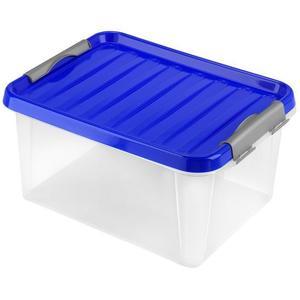 heidrun Plastový úložný box s vekom HEIDRUN Clip box 14l vyobraziť