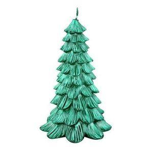 Provence Sviečka vianočná stromček, zelená vyobraziť