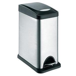 TORO Nerezový nášľapný kôš na odpadky TORO 8l vyobraziť