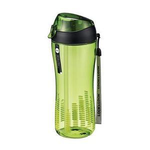 LOCK&LOCK Športová fľaša lock 550 ml so silikónovou slamkou, zelená vyobraziť