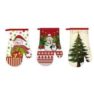 TORO Kuchynská rukavica TORO vianočný dekor, assort vyobraziť