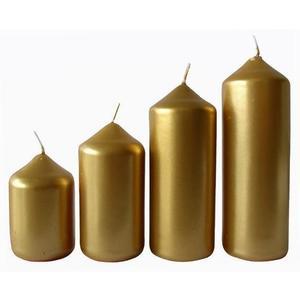 Provence Adventná sviečka ø4m PROVENCE 4 velikosti zlatá vyobraziť