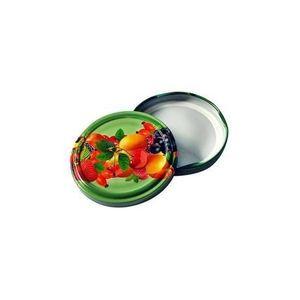 TORO Viečko Twist na zaváracie poháre 10 ks, 82 mm, motív ovocie vyobraziť