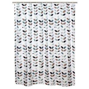 TORO Sprchový záves, polyester, 180 x 180 cm, motív listy vyobraziť
