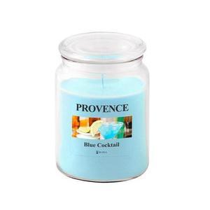 Provence Vonná sviečka v skle PROVENCE 510g, Blue Cocktail vyobraziť