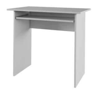 Tempo Kondela PC stôl VERNER Farba: Biela vyobraziť
