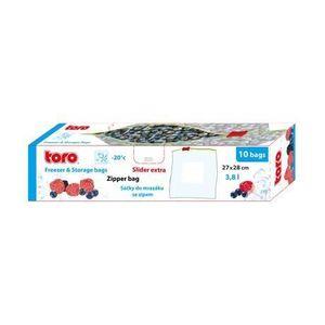 TORO Vrecká na potraviny TORO 10ks 3, 8l vyobraziť
