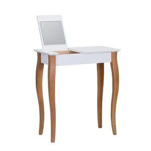Biely toaletný stolík so zrkadlom Ragaba Dressing Table, dĺžka 65 cm vyobraziť