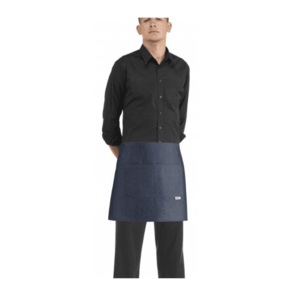 EGOCHEF Barmanská zástera Jeans vyobraziť