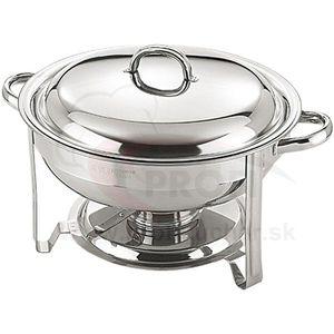 Chafing dish okrúhly, 4 lit vyobraziť