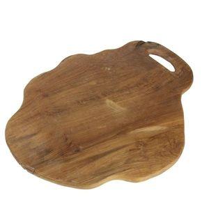 Doska na krájanie z teakového dreva HSM Collection Flate L vyobraziť