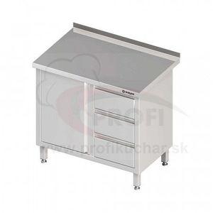 Pracovný stôl so zásuvkami - s policou 1900x700x850mm vyobraziť