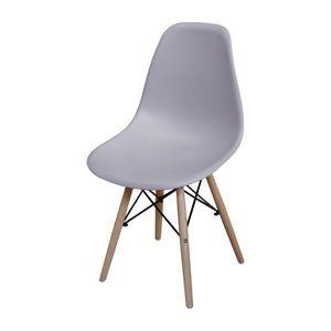 Jedálenská stolička UNO sivá vyobraziť