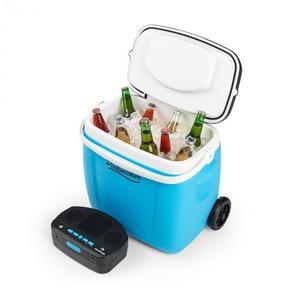 Auna Picknicker Trolley Music Cooler, chladiaci box, kufríkový, 36 l, BT reproduktor, modrý vyobraziť