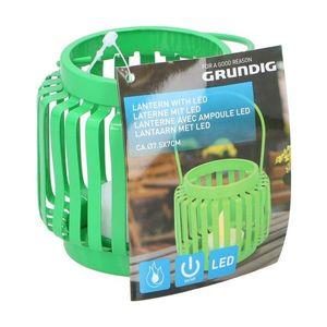 Grundig Grundig - LED Lucerna LED/1xCR2032 zelená vyobraziť