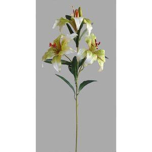 Umelá kvetina Ľalia, biela vyobraziť