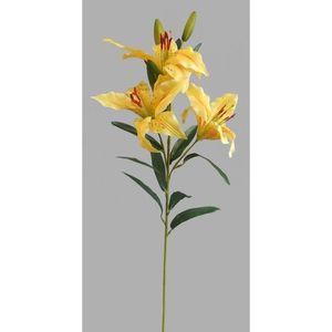Umelá kvetina Ľalia, žltá vyobraziť