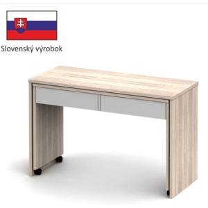 Tempo Kondela PC stôl VERSAL NEW dub sonoma svetlý / biela vyobraziť