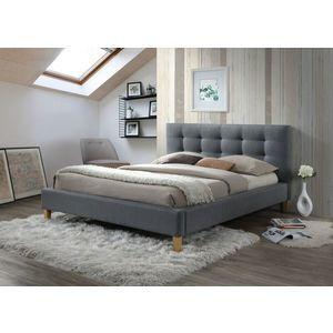 Signal Manželská posteľ TEXAS Prevedenie: 140 x 200 cm, sivá vyobraziť