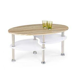 Konferenčný stôl MEDEA dub sonoma / biela Halmar vyobraziť