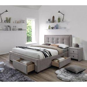 EVORA posteľ béžová vyobraziť
