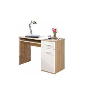 Počítačový stôl EMIO Typ 6 dub sonoma / biela Tempo Kondela vyobraziť
