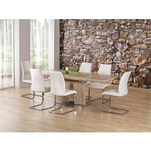 Jedálenský stôl rozkladací RAFAELLO dub sonoma Halmar vyobraziť