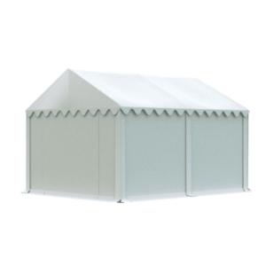 Skladový stan 4x4m biela EKONOMY vyobraziť
