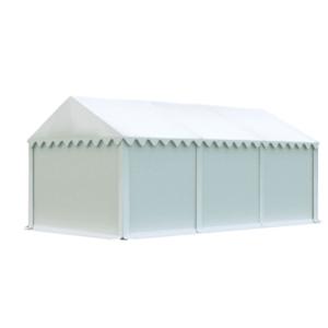 Skladový stan 4x6m biela EKONOMY vyobraziť