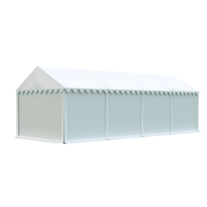 Skladový stan 4x8m biela EKONOMY vyobraziť